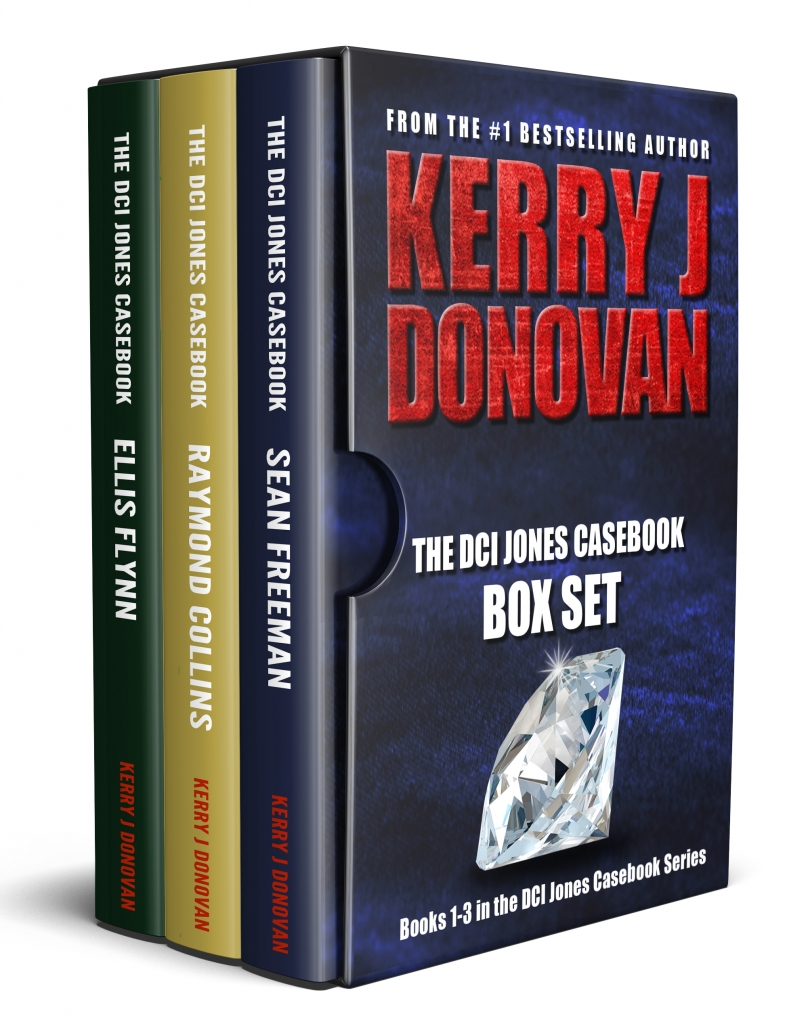Book Cover: The DCI Jones Casebooks: Box Set 1