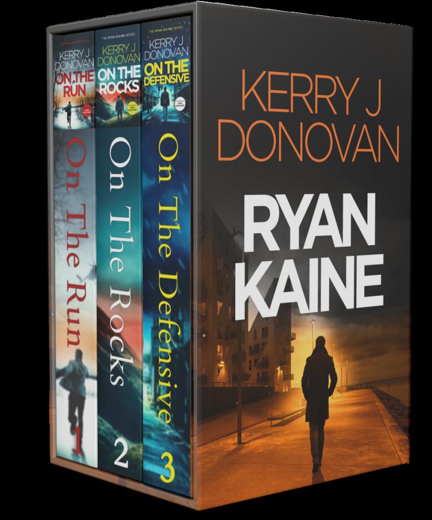Book Cover: The Ryan Kaine Series: Books 1-3
