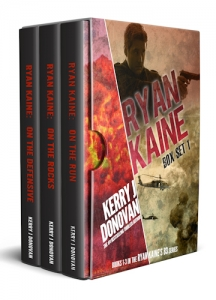 Book Cover: Ryan Kaine: Box Set 1