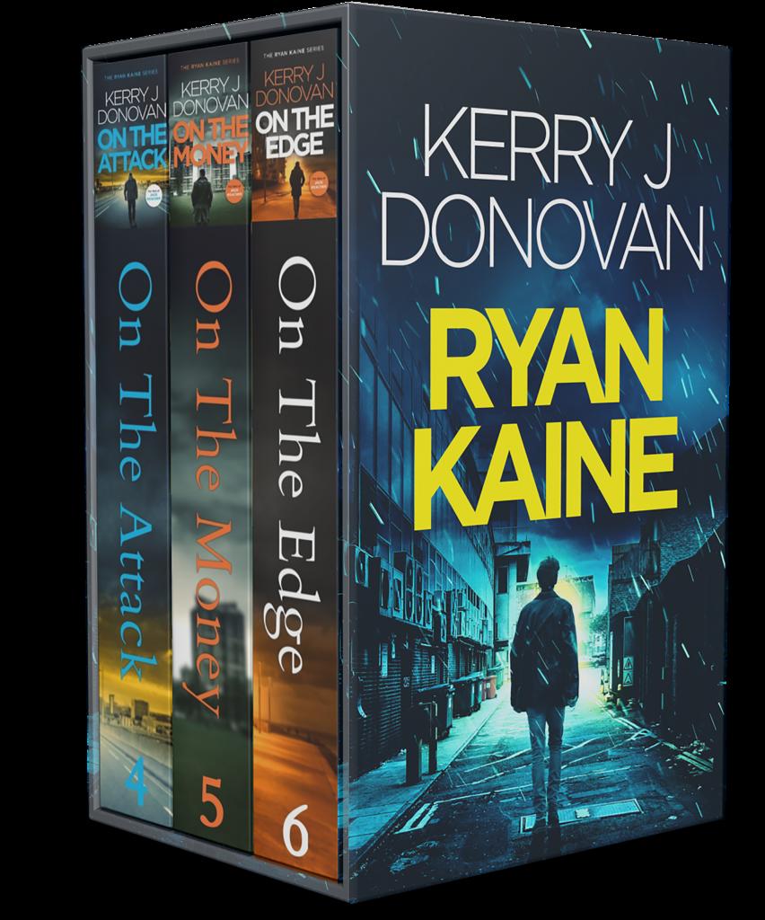 Book Cover: The Ryan Kaine Series: Books 4-6
