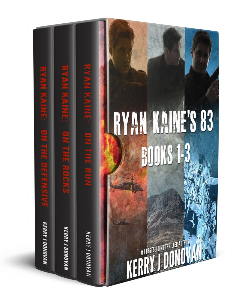 Book Cover: The Ryan Kaine's 83 Series: Books 1-3