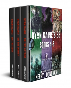 Book Cover: The Ryan Kaine Series: Books 4-6