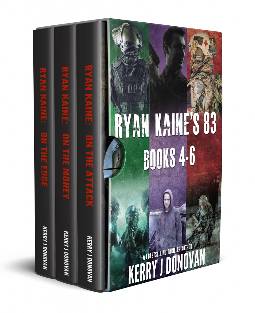Book Cover: The Ryan Kaine's 83 Series: Books 4-6